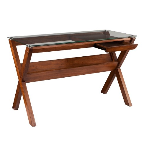 Sophi Writing Desk Brown - Holly & Martin - image 1 of 6