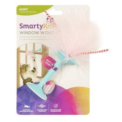 SmartyKat Window Wobbler Suction Cat Toy