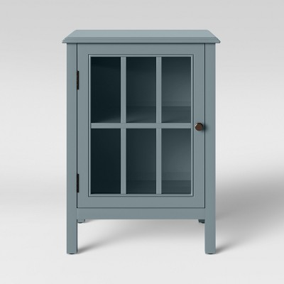 Windham One Door Accent Cabinet Windsor Blue - Threshold™