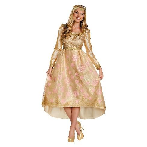 f75b24749316d Disney Maleficent Women's Aurora Coronation Gown Costume : Target