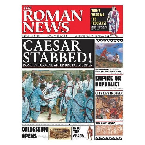 History News: The Roman News - by  Andrew Langley (Paperback) - image 1 of 1