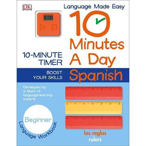 10 Minutes a Day: Spanish, Beginner - (Paperback) - image 1 of 1