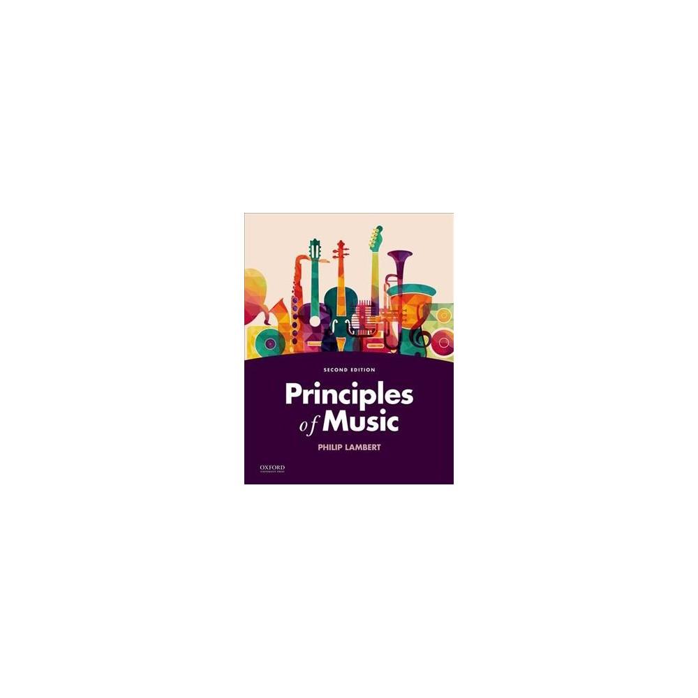 Principles of Music - by Philip Lambert (Paperback)