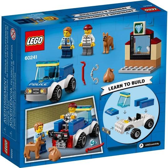 LEGO City Police Dog Unit 60241 Cool Building Set for Kids image number null