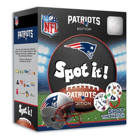NFL New England Patriots Spot It Game - image 1 of 3