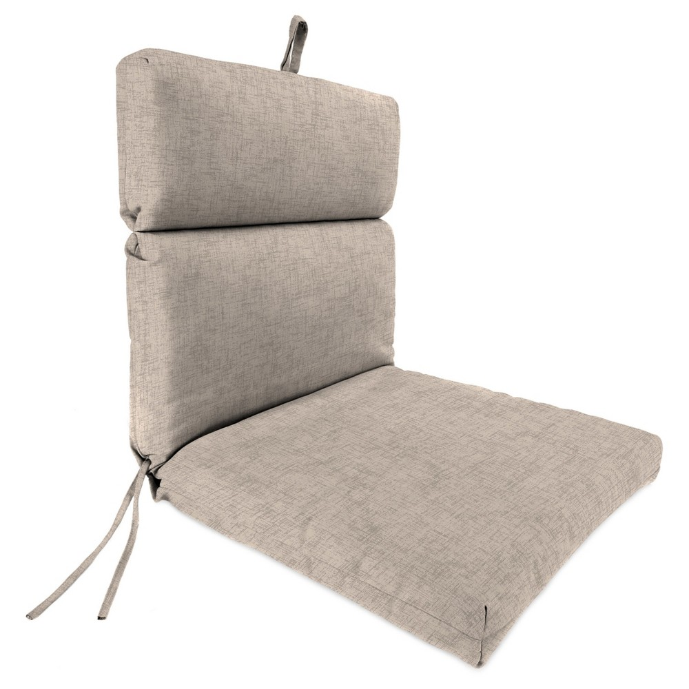 Outdoor French Edge Dining Chair - Rich Brown - Jordan Manufacturing