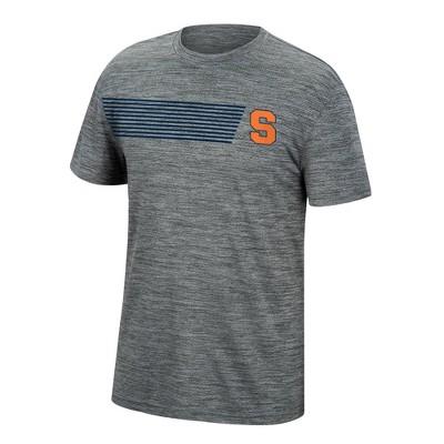 NCAA Syracuse Orange Men's Mesh Gray T-Shirt