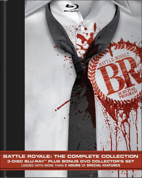 Battle Royale: The Complete Collection [4 Discs] [Blu-ray/DVD] - image 1 of 1