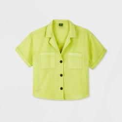 Women's Short Sleeve Button-Down Shirt - Wild Fable™