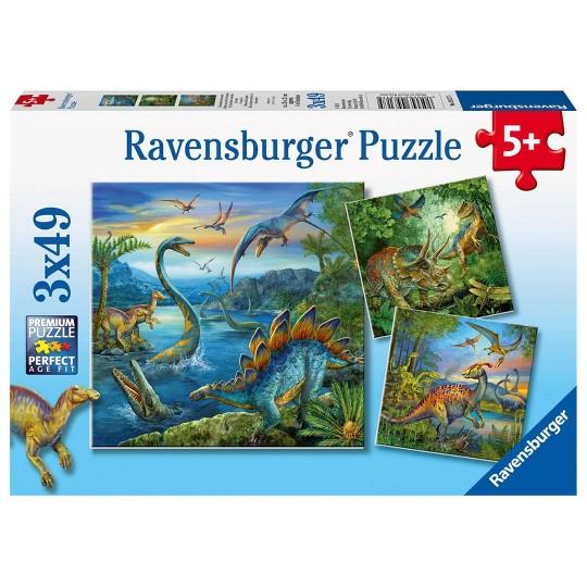 Ravensburger Dinosaur Fascination Puzzles 147pc, Kids Unisex image number null