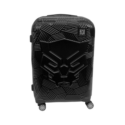 "FUL Marvel Black Panther Icon Molded 25"" Hardside Rolling Suitcase - Black"