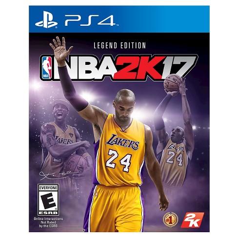 NBA 2K17 Legend Edition PlayStation 4 - image 1 of 4