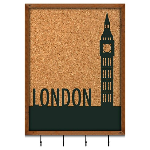 Cork Board Wall Art - London - image 1 of 1
