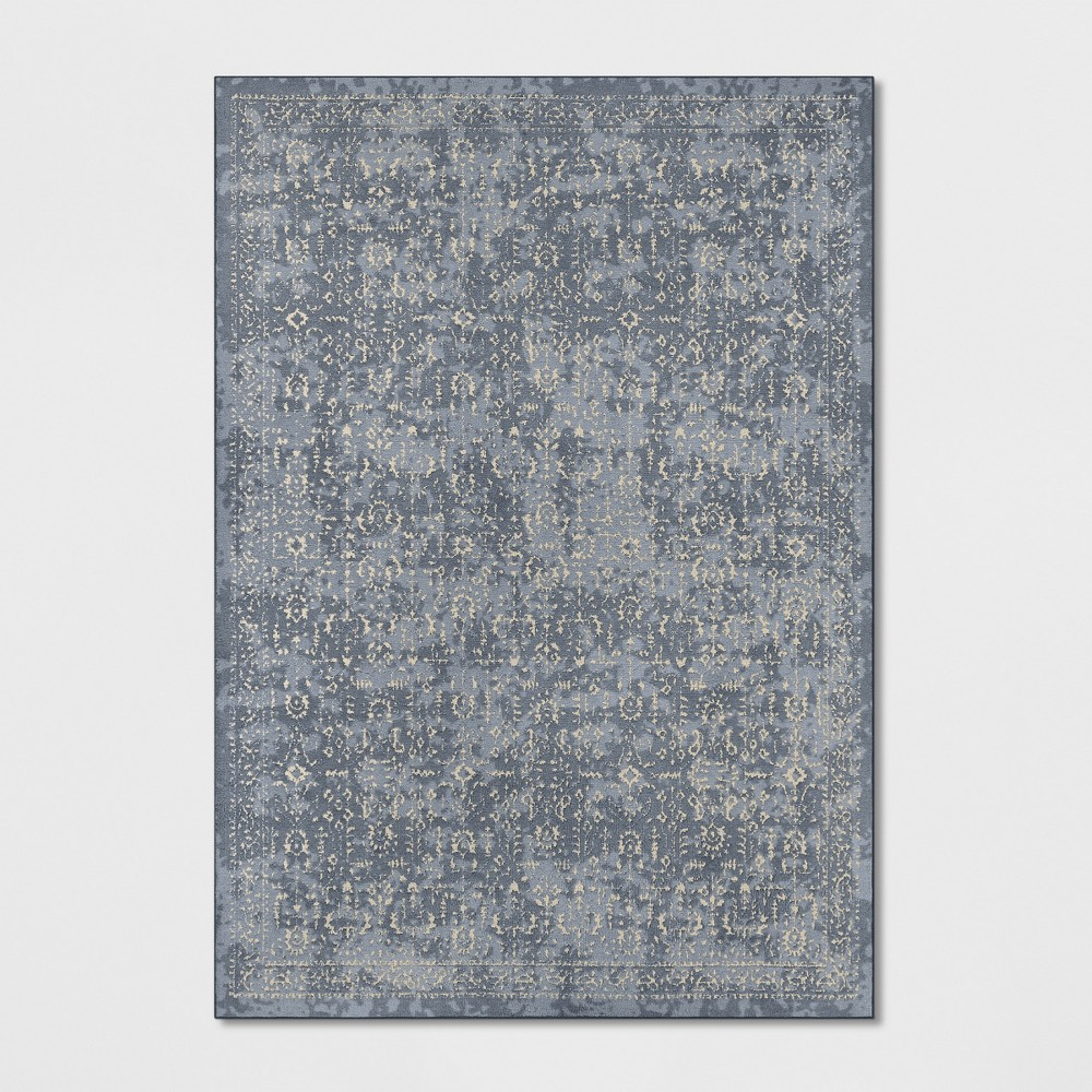 7'X10' Splatter Tufted Area Rugs Light Blue - Threshold