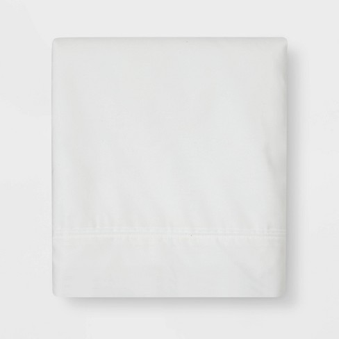 300 Thread Count Ultra Soft Flat Sheet - Threshold™ - image 1 of 4