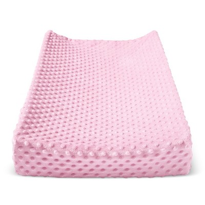 Plush Changing Pad Cover Solid - Cloud Island™ - Pink
