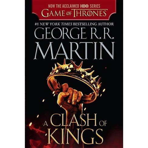 A Clash of Kings (HBO Tie-in Edition) (A Song of Ice and Fire #2) (Paperback) by George R. R. Martin - image 1 of 1