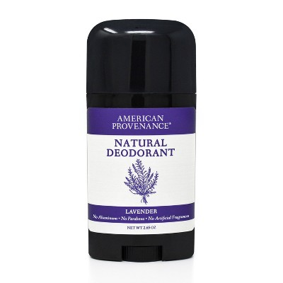 American Provenance Lavender Aluminum-Free Natural Deodorant - 2.65oz