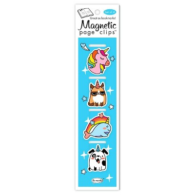 Unicorn Doodles Page Clips