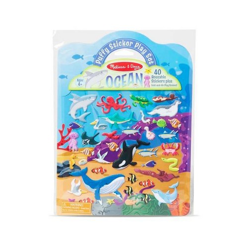 Puffy Sticker Play Set- Ocean - (Paperback) - image 1 of 1