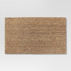 "1'6""x2'6"" Solid Doormat Beige - Room Essentials™"