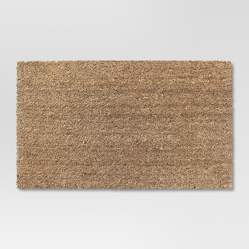"1'6""x2'6"" Solid Doormat Beige - Room Essentials™ - image 1 of 1"