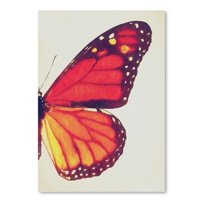 Americanflat Monarch Butterfly Ii by Chaos & Wonder Design Poster