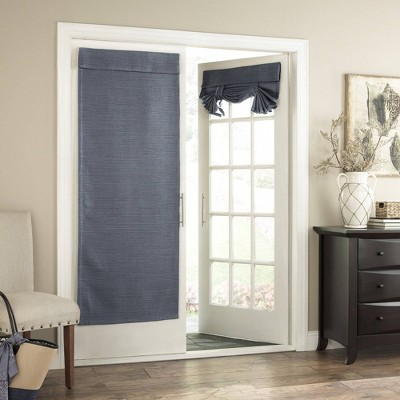 "68""x28"" Bryson Thermaweave Blackout French Door Panel - Eclipse"