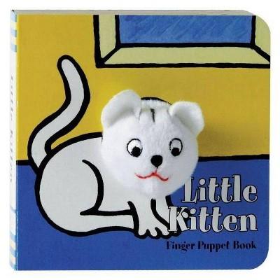 Little Kitten: Finger Puppet Book - (Little Finger Puppet Board Books)(Board Book)