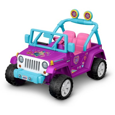 Power Wheels JoJo Siwa Jeep Wrangler Powered Ride-On