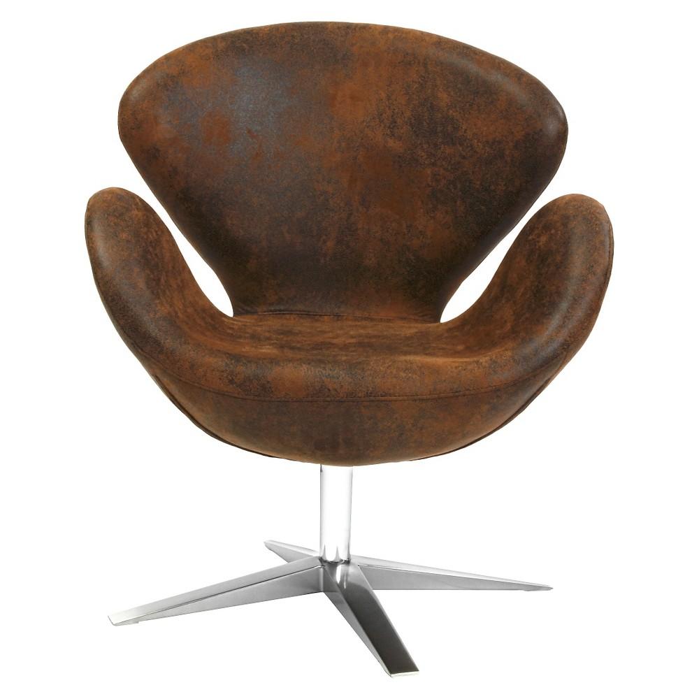 Modern Petal Chair Brown - Christopher Knight Home