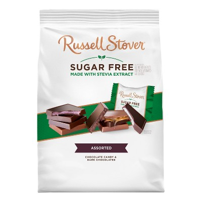 Russell Stover Sugar Free Gusset Bag - Tiles - 17.6oz