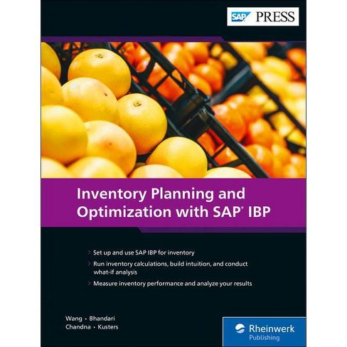 Inventory Planning and Optimization with SAP IBP - (Hardcover) - image 1 of 1