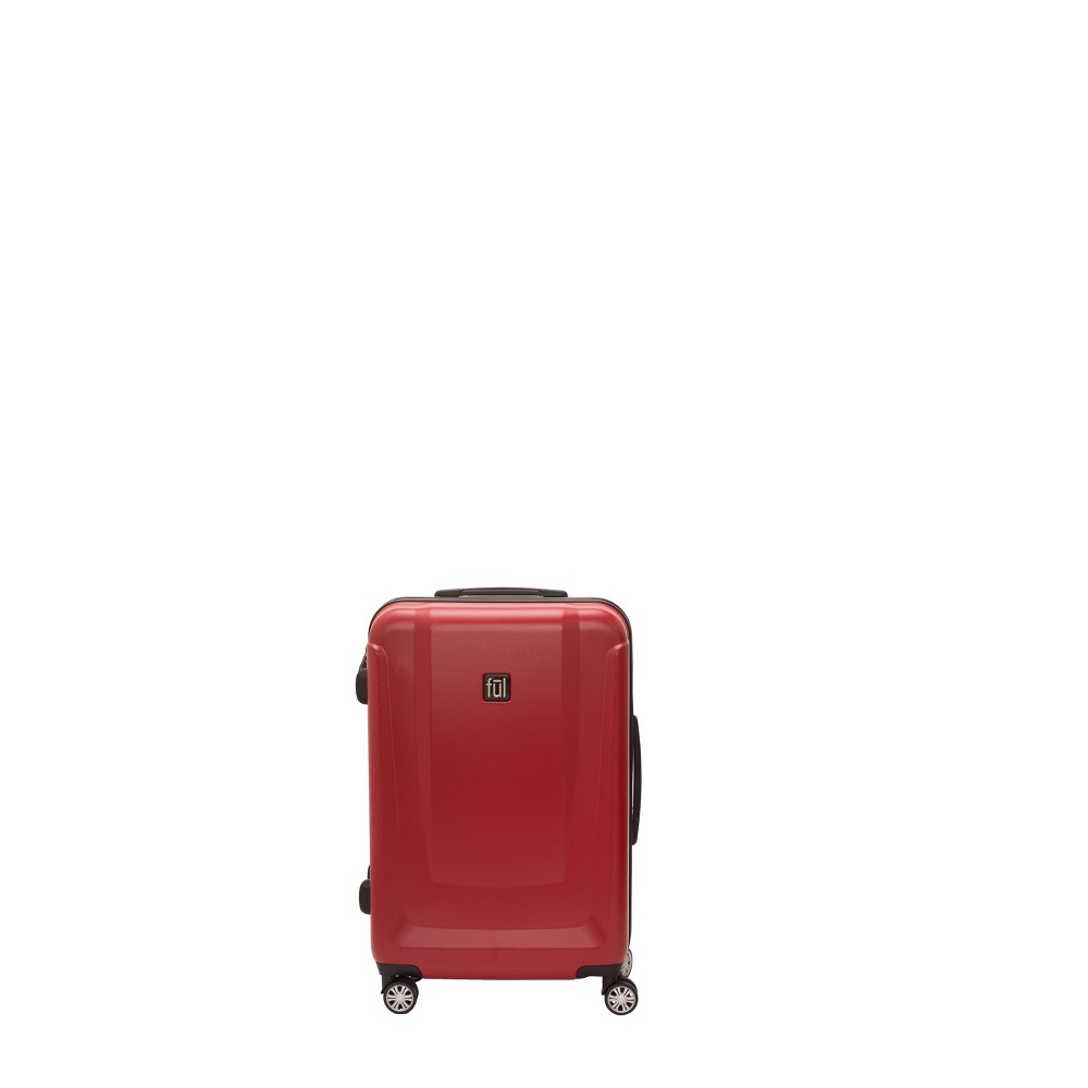 "Image of ""FUL 25"""" Load Rider Hardside Spinner Suitcase - Red"""