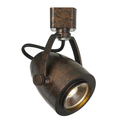 """Integrated LED track Fixture Rust 5""""x1.9"""" Ceiling lights - Cal Lighting - image 1 of 1"""