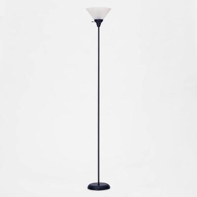 Torchiere Floor Lamp Navy (Includes Energy Efficient Light Bulb)- Room Essentials™