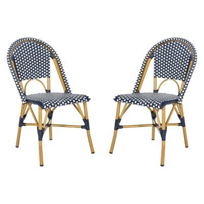 Attrayant Salcha Indoor/Outdoor French Bistro Stacking Side Chair   Safavieh