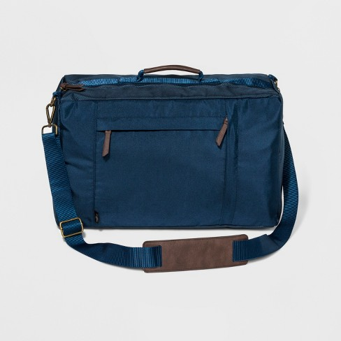 3 In 1 Briefcase Backpack - Goodfellow & Co™ Navy - image 1 of 4