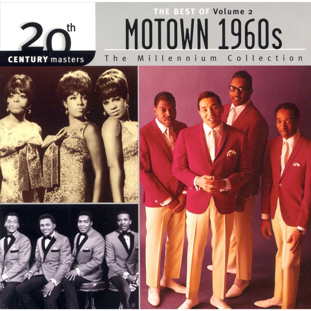 Various Artists Motown 1960s Vol 2 Millennium Collection 20th Century Masters Cd