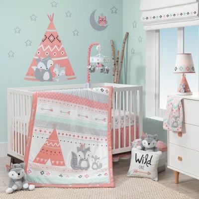 Lambs & Ivy Little Spirit Crib Bedding Set - 3pc