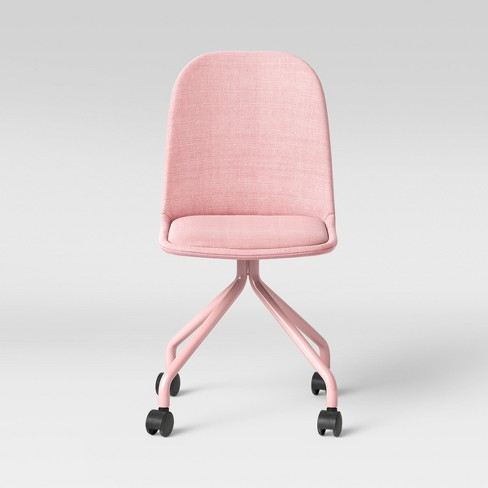 Swell Kids Rolling Desk Chair Pink Pillowfort Beatyapartments Chair Design Images Beatyapartmentscom