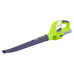 20 Volts Cordless Lithium Blower - Green - Earthwise