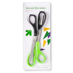 "Home and Office Scissors 8"" 2ct - Up&Up™"