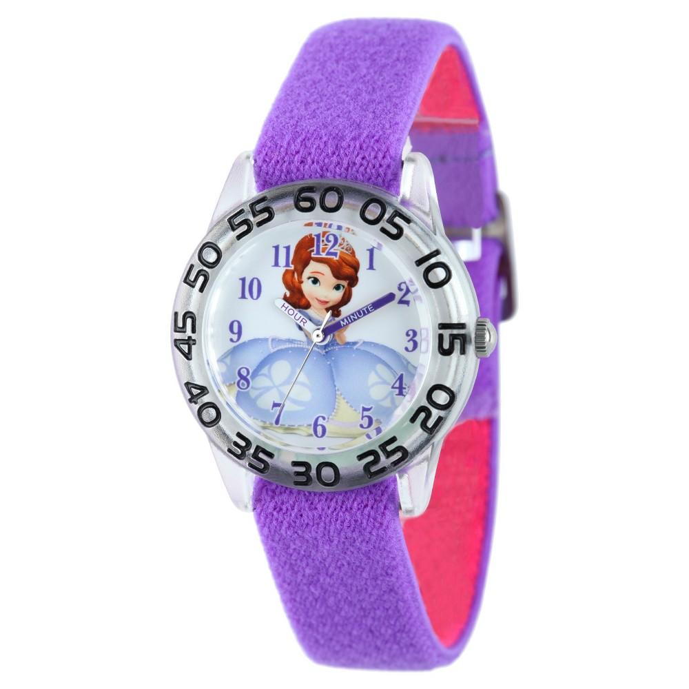 Girls' Disney Sofia Plastic Watch - Purple