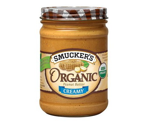 Smucker's® Organic Creamy Peanut Butter - 16oz - image 1 of 1