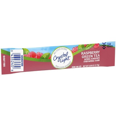 Crystal Light On-the-Go Raspberry Green Tea Drink Mix - 10pk/0.96oz