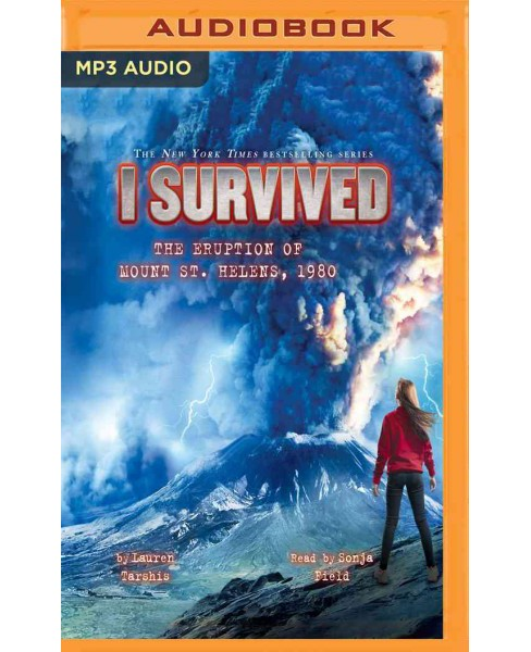 I Survived the Eruption of Mount St. Helens 1980 (MP3-CD) (Lauren Tarshis) - image 1 of 1