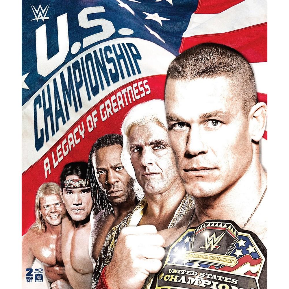 Wwe:Us Championship Legacy Of Greatne (Blu-ray)