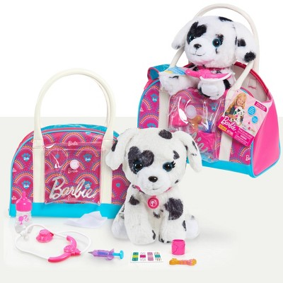 Barbie Pet Doctor with Dalmation Puppy Stuffed Animal