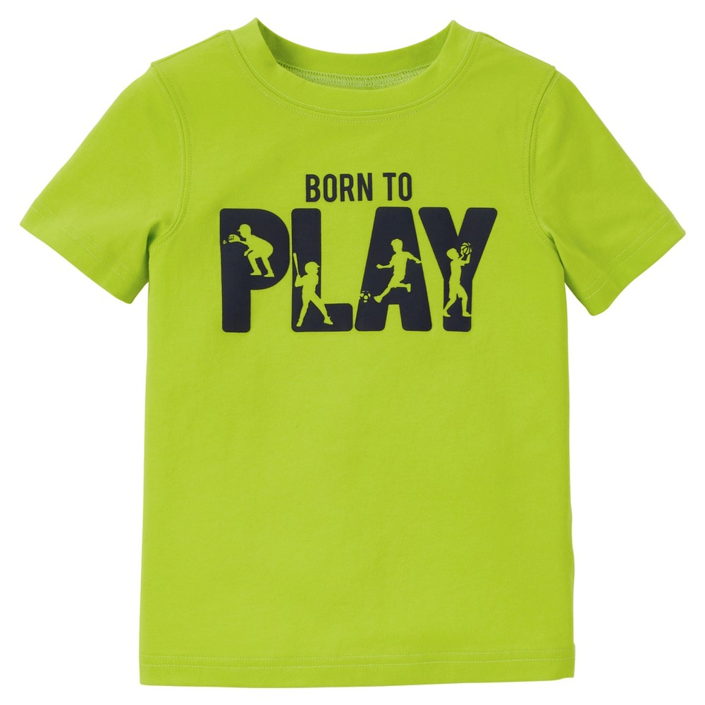 Toddler Boys' Graphic T-Shirt - Just One You Made by Carter's Distant Lime (Green) 4T